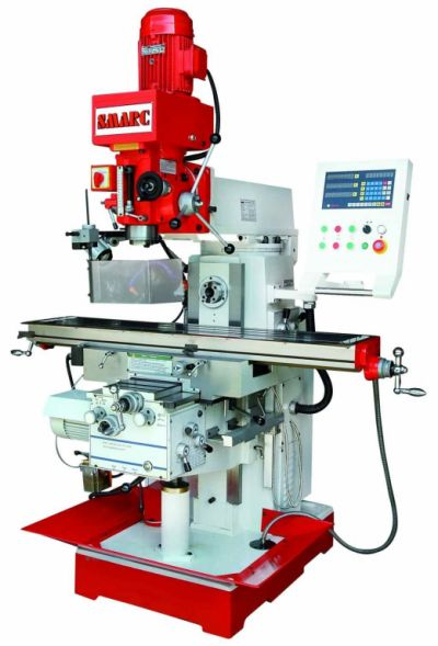 SMARC ZX6350ZA GEAR TYPE TURRET MILLING MACHINE