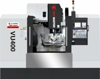 KRAFT VU400 5 AXIS CNC VERTICAL MACHINING CENTERS